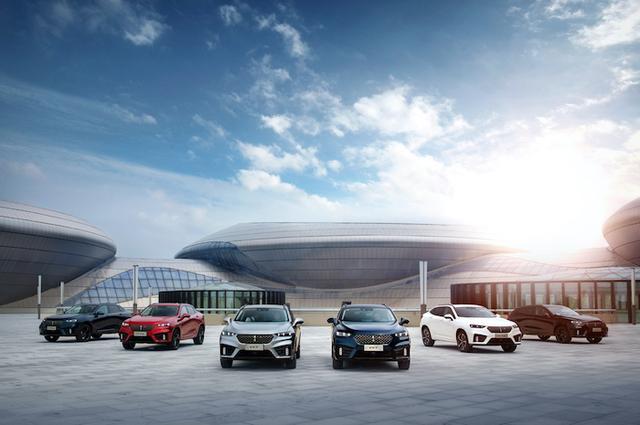 有颜有型有实力  VV7家族满足对豪华SUV的所有幻想