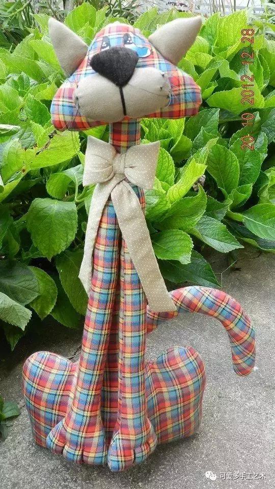 用旧衣服给孩子做几个小动物玩偶,第一个就爱不释手了! 旧衣服做动物玩偶 第36张