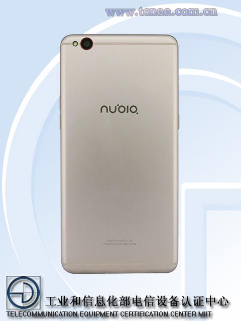nubia2款新手机入网许可证 M2/M2青春版外置指纹识别 红点
