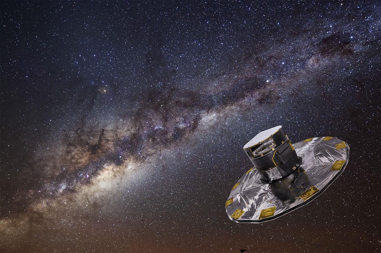 强!盖亚宇宙飞船可以作为引力波探测器