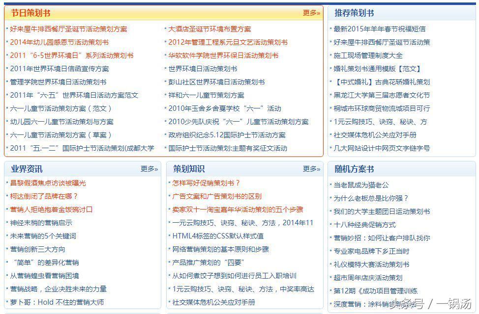不懂文案写作?收下这9个实用的文案网站!