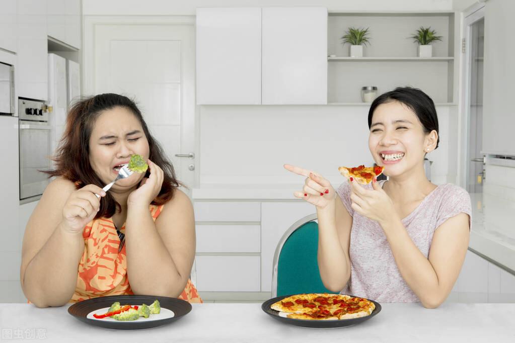 減肥沒有捷徑!減掉贅肉的2個方法:管住嘴,邁開腿