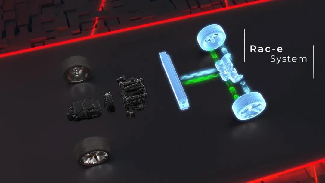 马力100匹、前后三个电机,这台法拉利比拉法更快