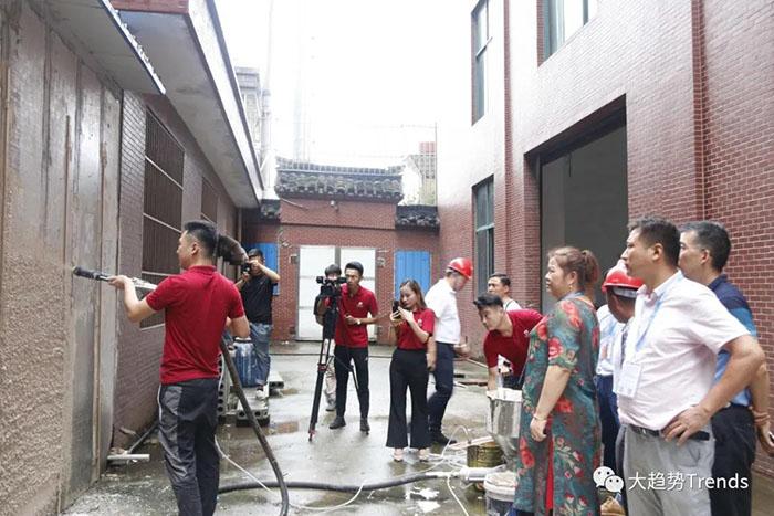 赋能涂装行业高质量发展—机械化施工培训张家港站