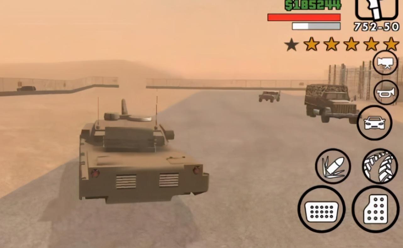 """神作《GTA》系列20年来""""坦克""""发展历程,一代更比一代弱?"""