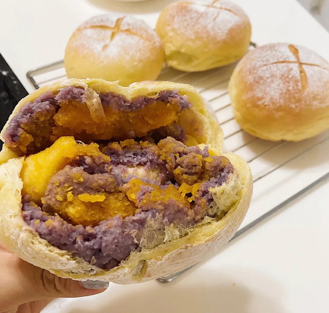 比汉堡好吃的带馅欧包 美食做法 第14张