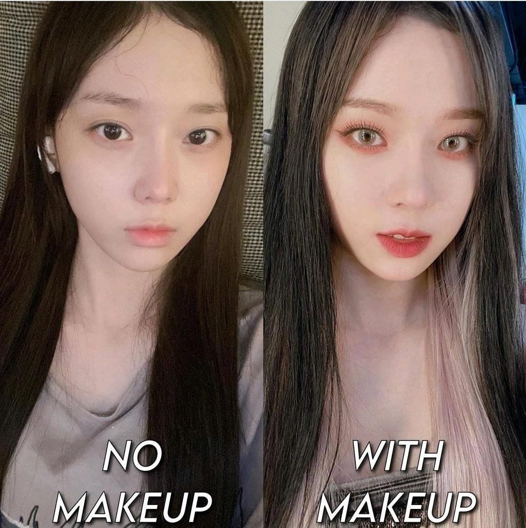 aespa的妆容为什么总是莫名老气,sm化妆师是看素颜是清纯妹妹吗