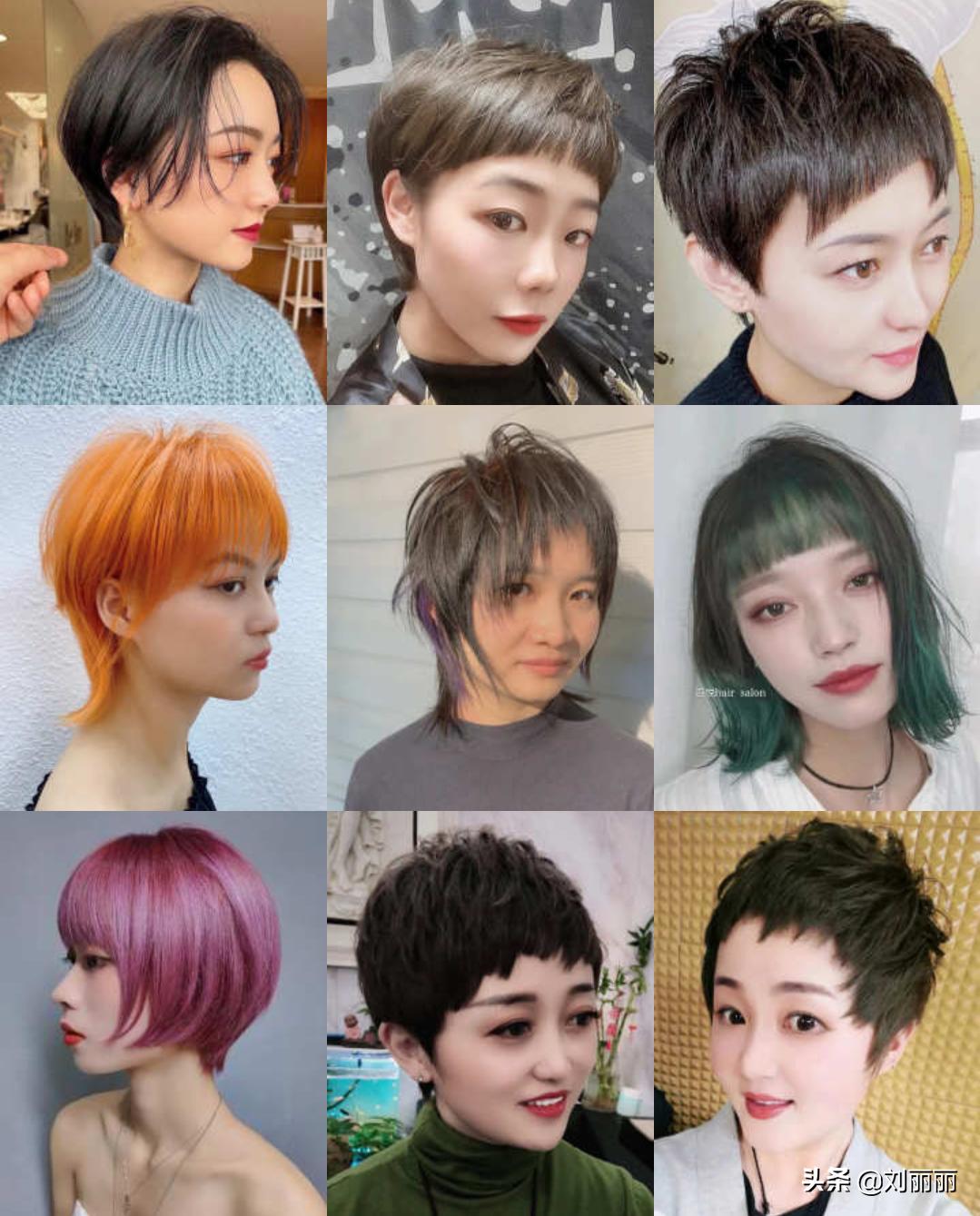 2021新发型大全100多款,无论长短都很美,喜欢就选一款吧