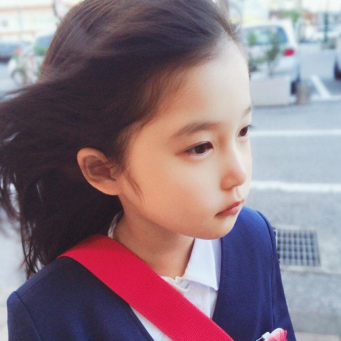 可爱的萌娃头像 我是可爱的女孩子,你是可爱
