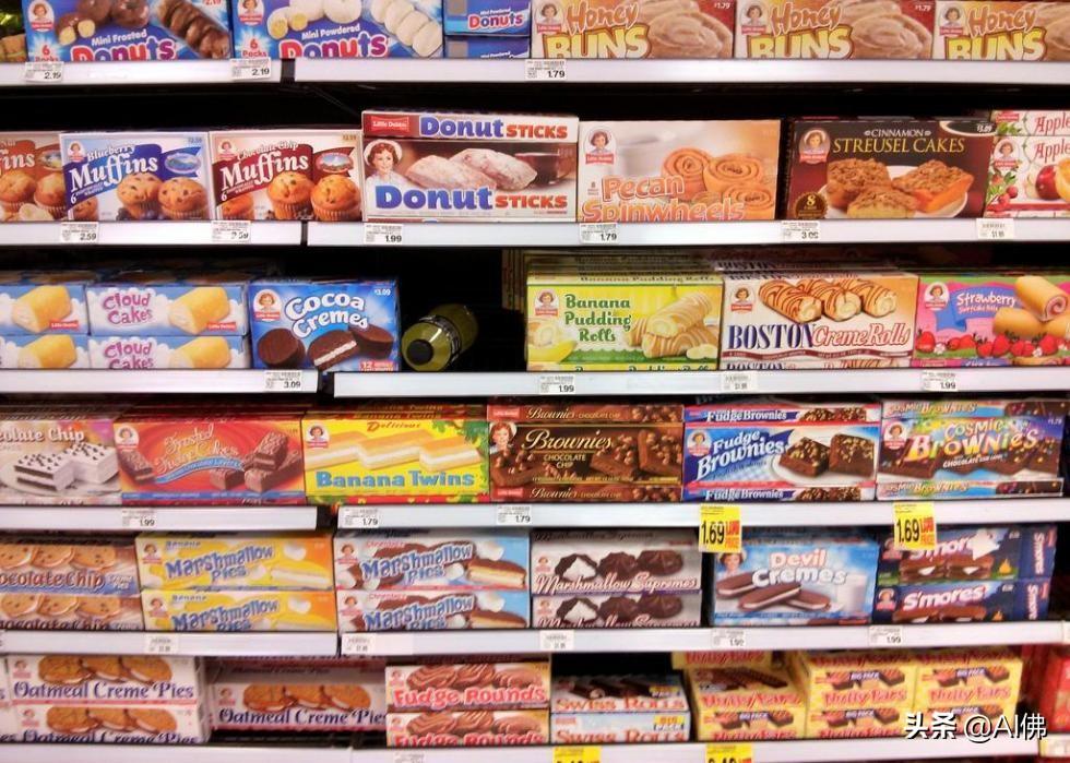 美国禁止的30种零食和其他食品