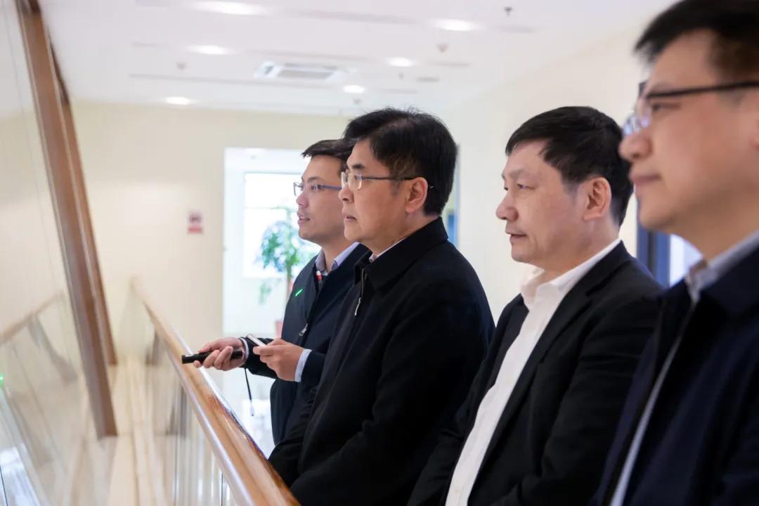 省发改委党组书记、主任张灿民带队调研申远化工新材料园区