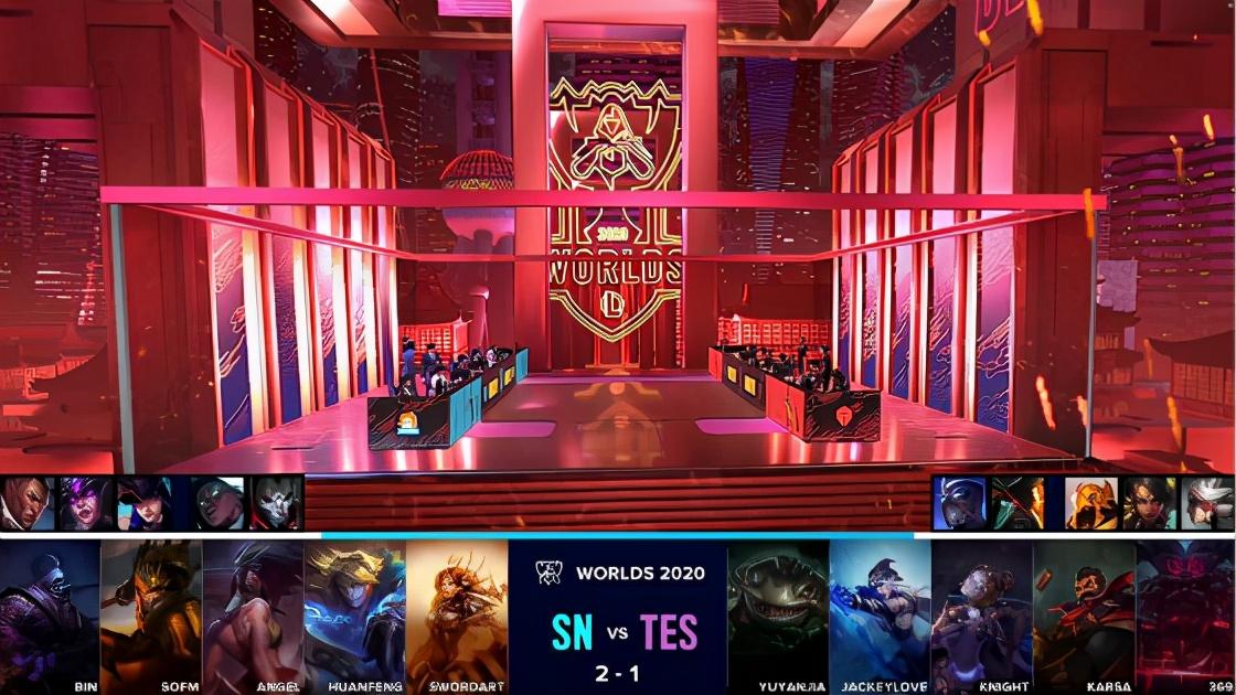S10半决赛:阿卡丽逆天超神,SN3-1战胜TES杀进决赛