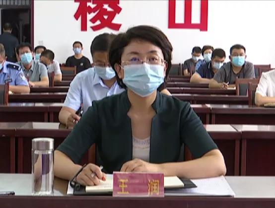 稷山县在分会场参加 全省生态环境质量达标暨大气污染防治重点工作推进会