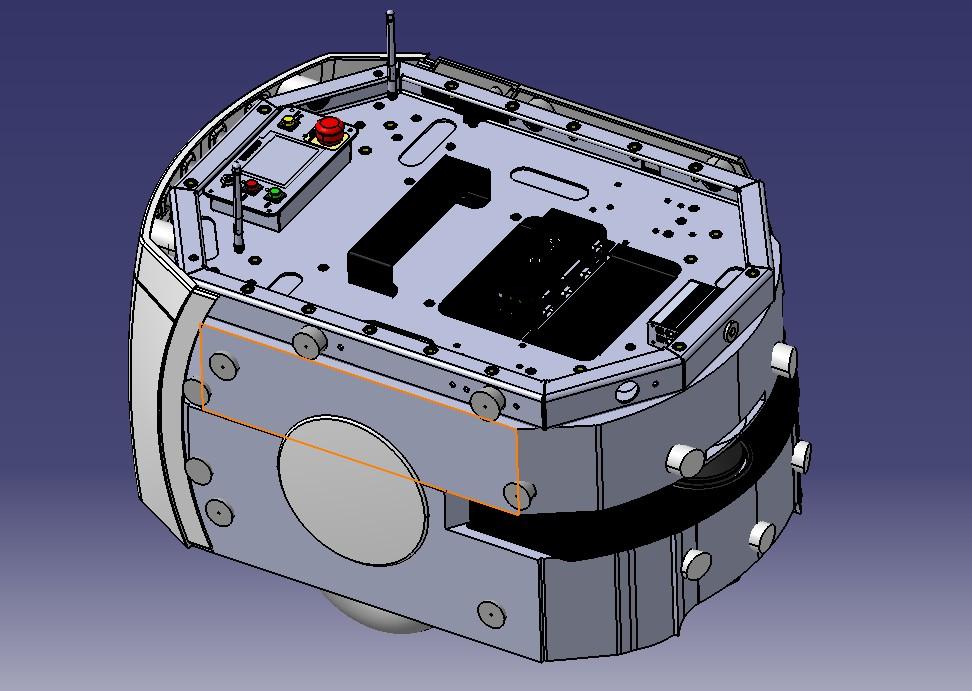 Omron LD Cart欧姆龙AGV移动机器人车3D图纸 STEP格式