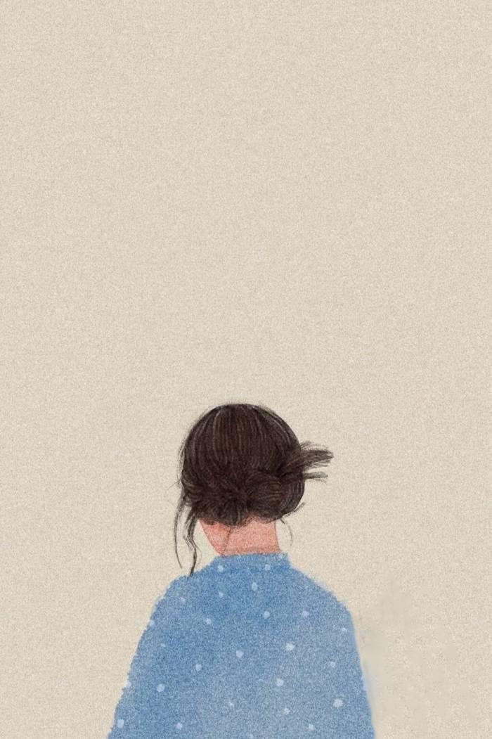 女生好看的聊天背景图(适合做聊天背景的图片)