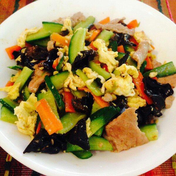 经典鲁菜木须肉