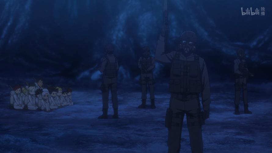 《約定的夢幻島》用一朝時間從天堂墮入地獄,這不比夢幻島還原?