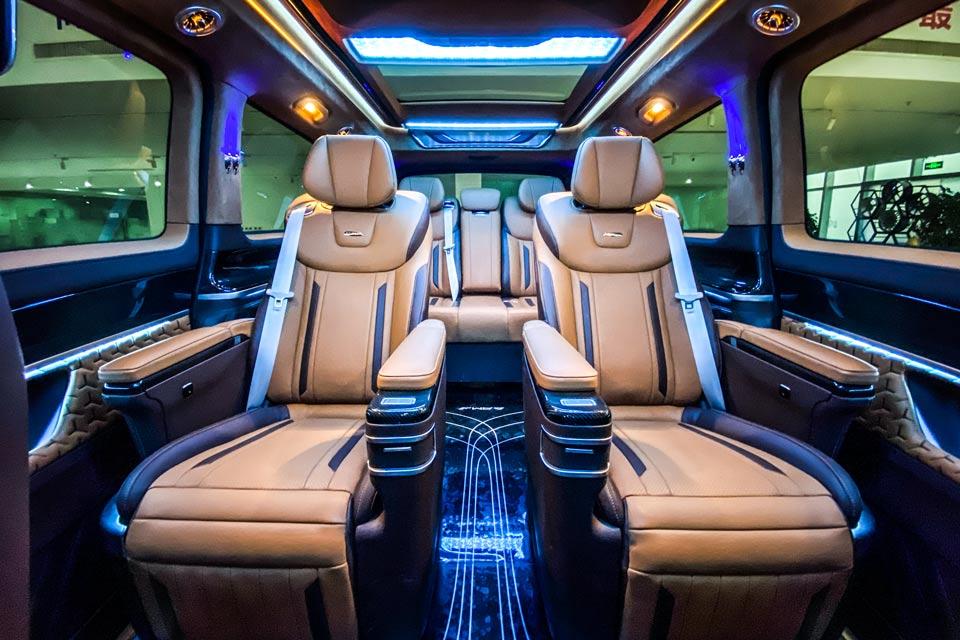 奔驰V260L梵兹慕,打造豪华精致车身 敏捷操控悬挂系统