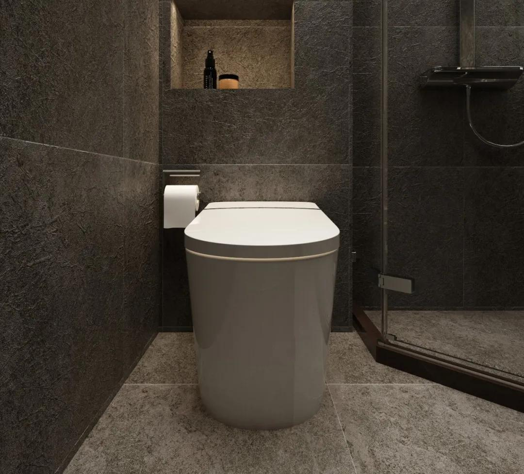 鲸品设计 | 爸妈惊呆了~黑色现代风浴室,年轻人咋那么喜欢?