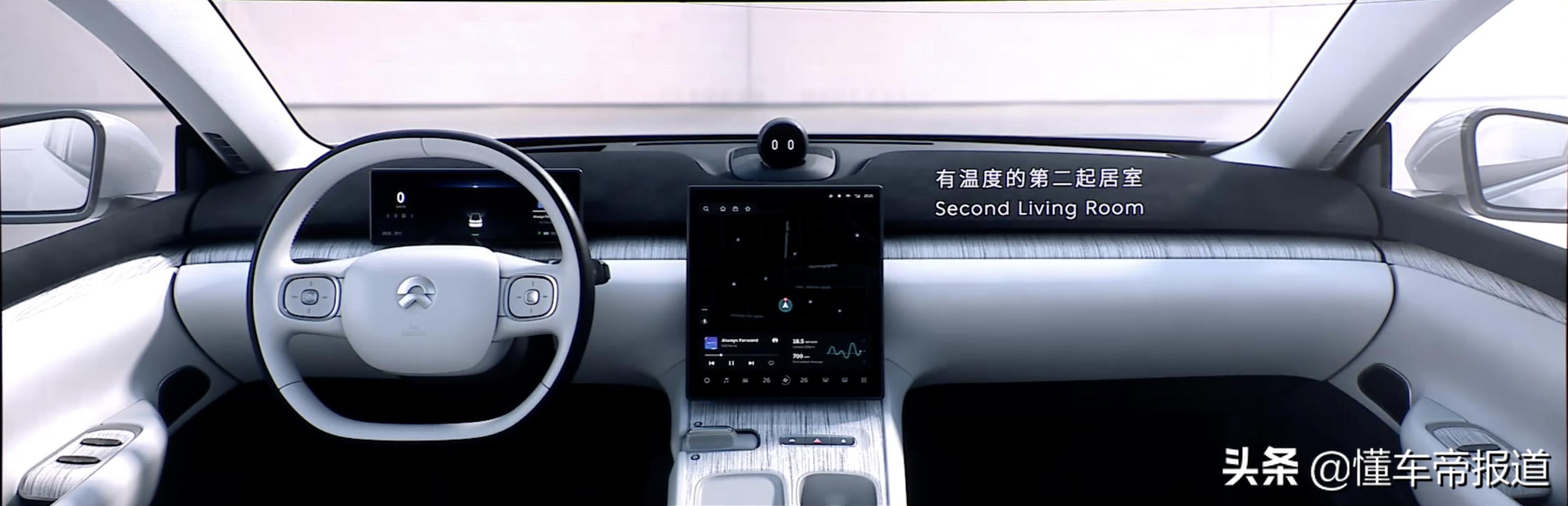 新车|首款纯电动轿车eT7亮相成都,蔚来的2021能靠它吗?