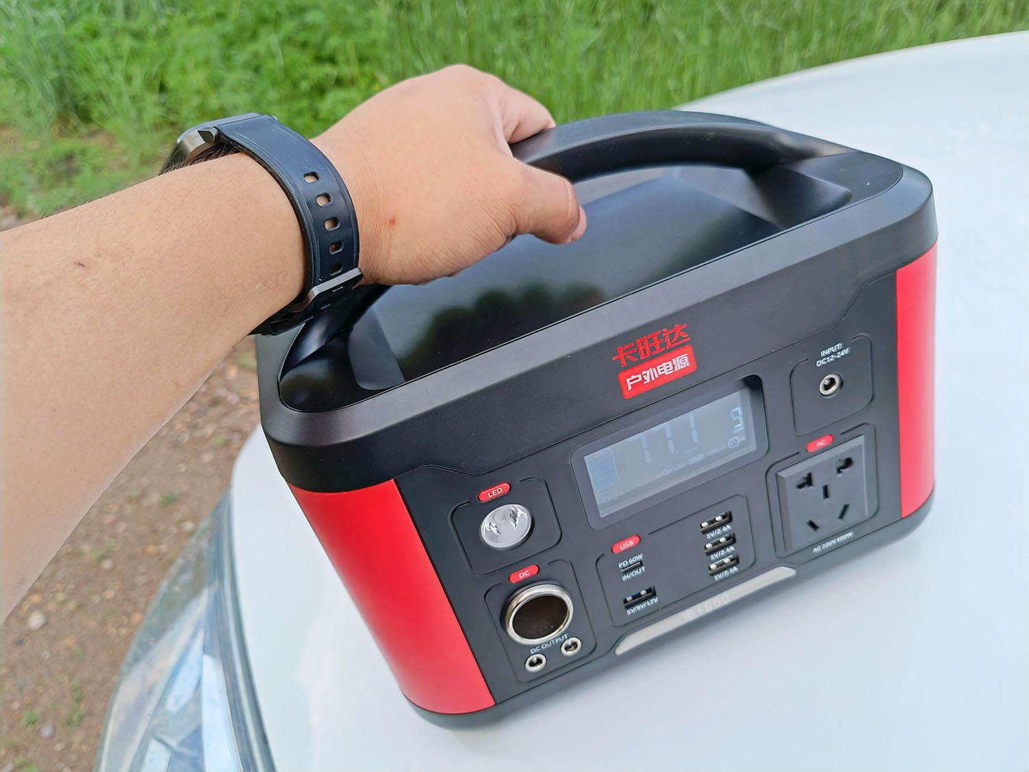 """携""""电""""出行,解决你的用电焦虑,卡旺达电+600开箱体验"""
