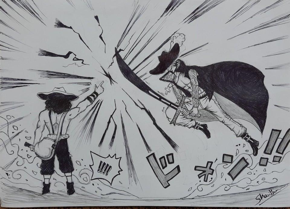 海賊王:烏索普不做人了,一根手指擋住鷹眼,用彈弓打爆黃猿的頭