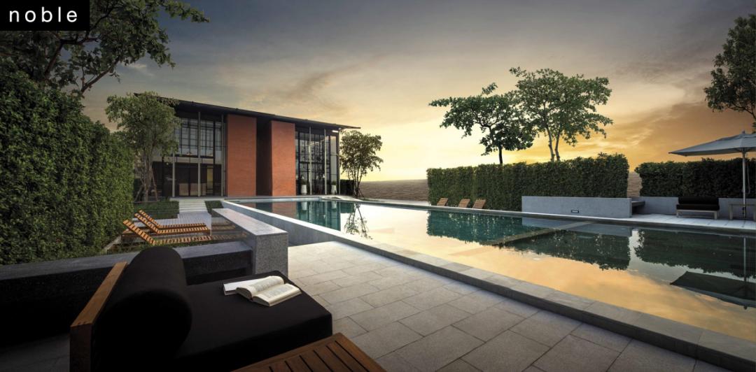 泰国第二家园!曼谷大型屋苑式管理别墅丨Noble Gable 诺博桦园二期
