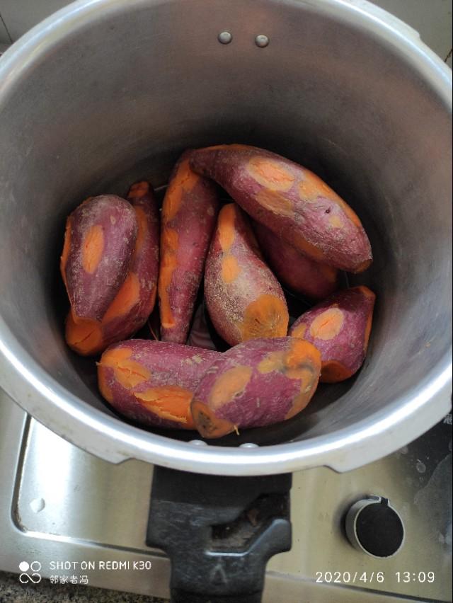 生活小妙招:高压锅烤红薯,好吃有营养,操作简单,看完就会……