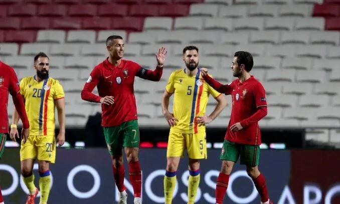7:0,C罗替补建功,生涯总进球数追平传奇普斯卡什,葡萄牙胜