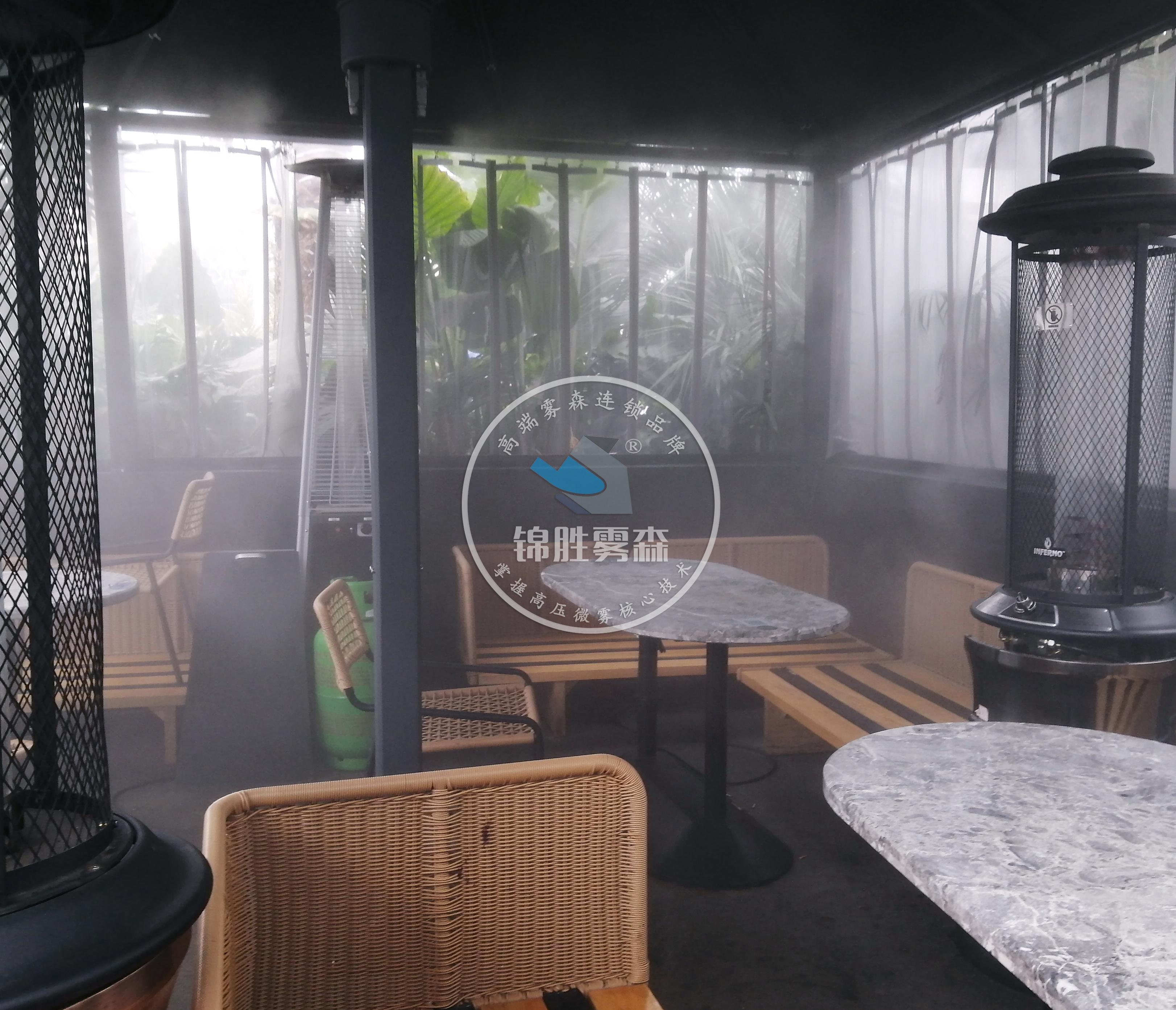 赤日炎炎,人造雾降温系统作伴——锦胜雾森