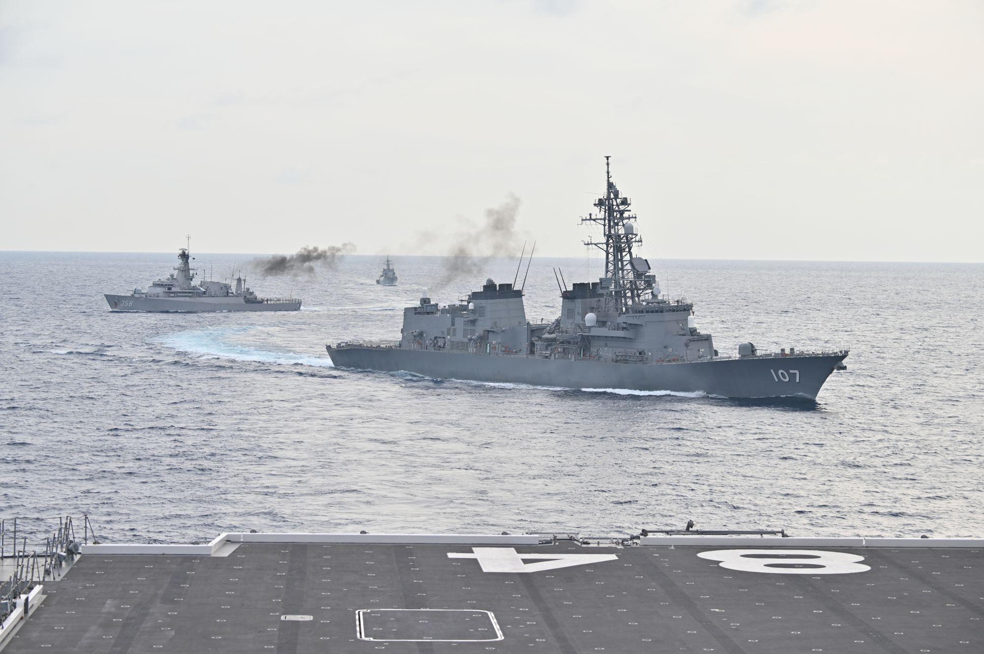 警惕:美日南海联合反潜演习,苍龙级潜艇首次露面