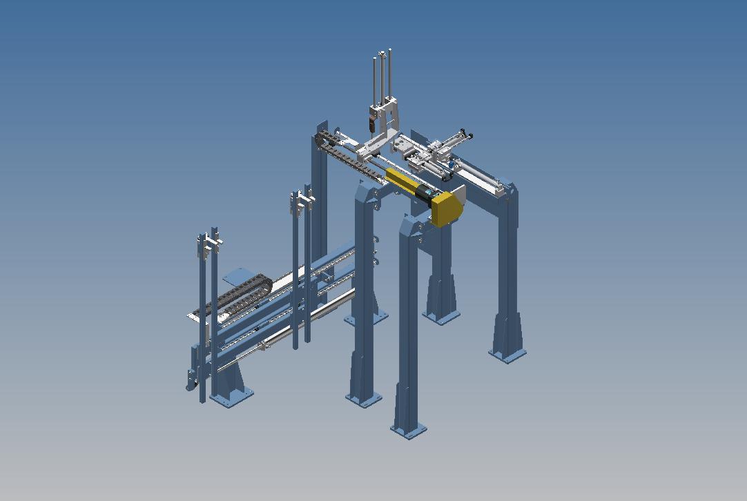 BAED-Bios直线导轨组合结构3D图纸 INVENTOR设计 附STP