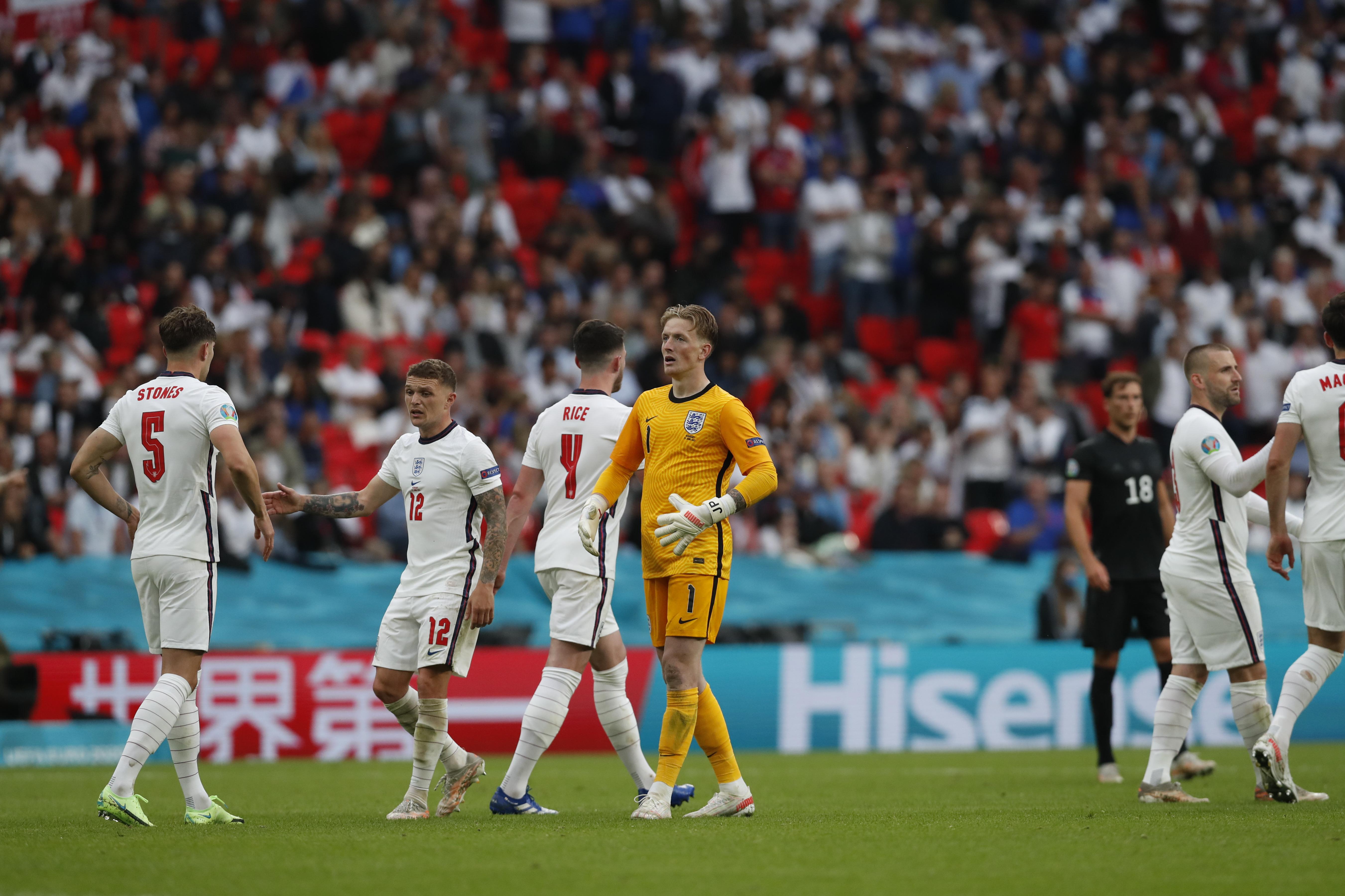 英格兰2-0德国晋级欧洲杯8强,时隔19年再胜一流强队
