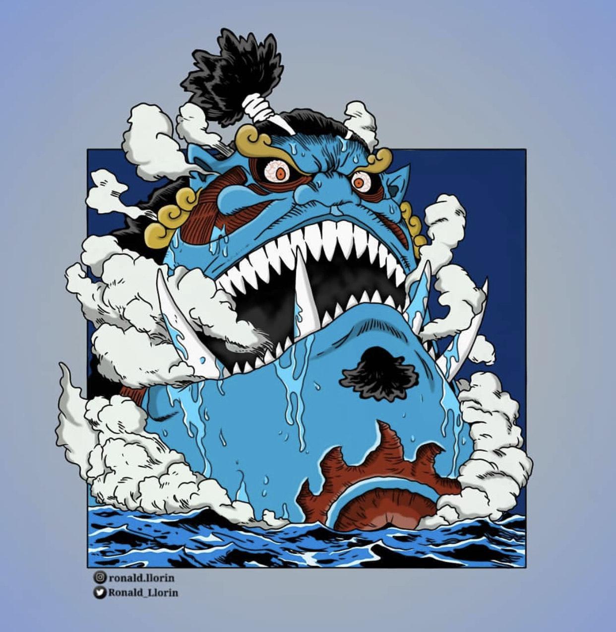 用「巨人」的畫風、來打開《海賊王》,眾人同時擁有丑+帥