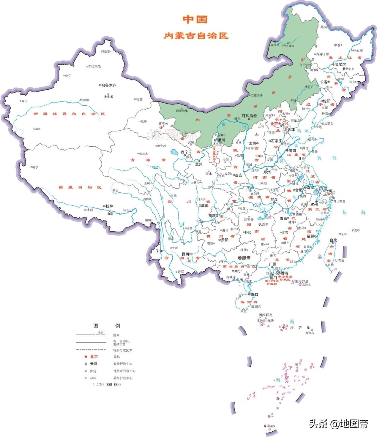 内蒙古首府为什么是呼和浩特?之前曾在河北张家口