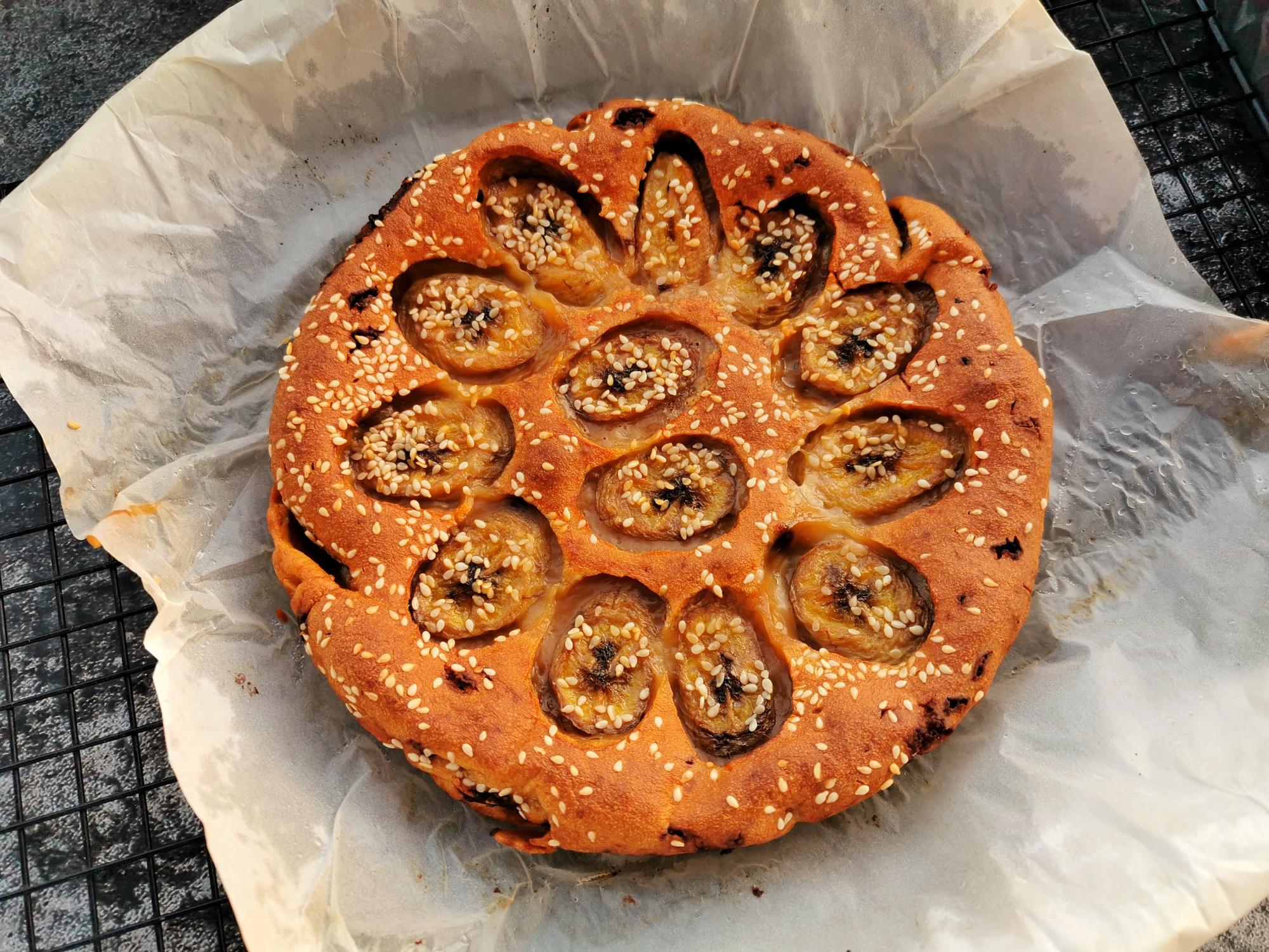 自製香蕉紅糖烤年糕,不用揉麵不用蒸,外脆裡糯,解饞暖胃寓意好