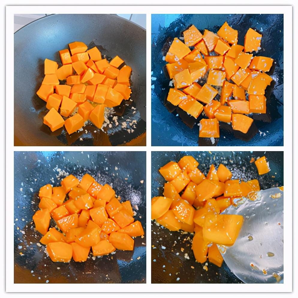 烧南瓜最好吃的做法,2个重点,粉糯香甜入味,比肉还好吃超下饭