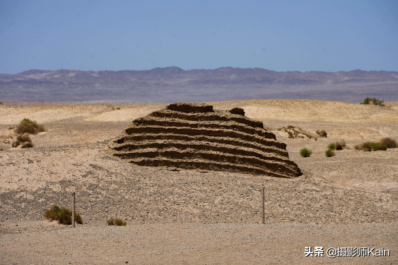 甘肃西北的戈壁滩中,有一座跨越两千年的建筑,是汉朝时的边检站