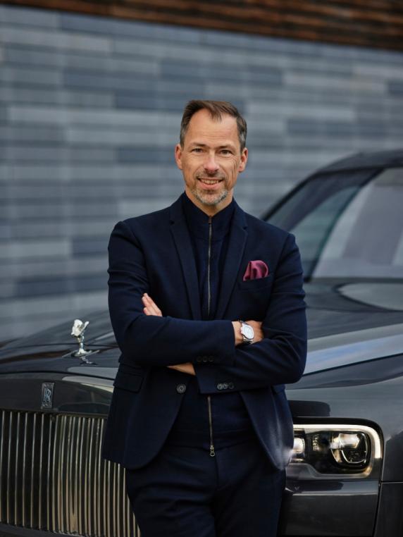 劳斯莱斯汽车任命新设计总监——安德斯·沃明
