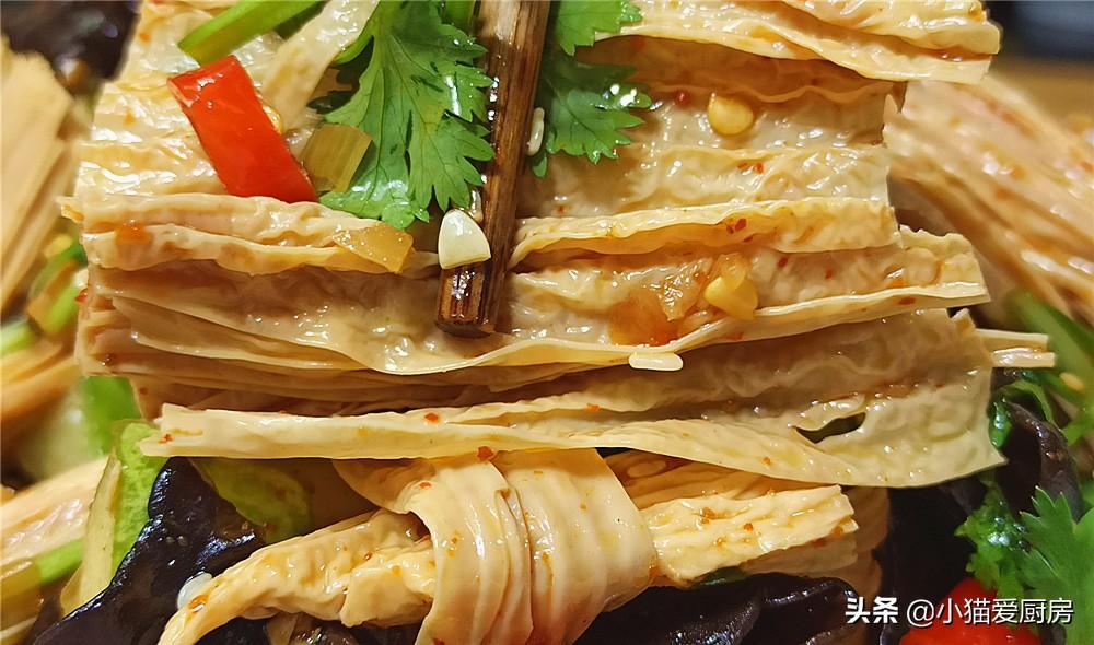 【腐竹木耳拌黄瓜】做法步骤图 原来是这样做出来的 成菜清甜