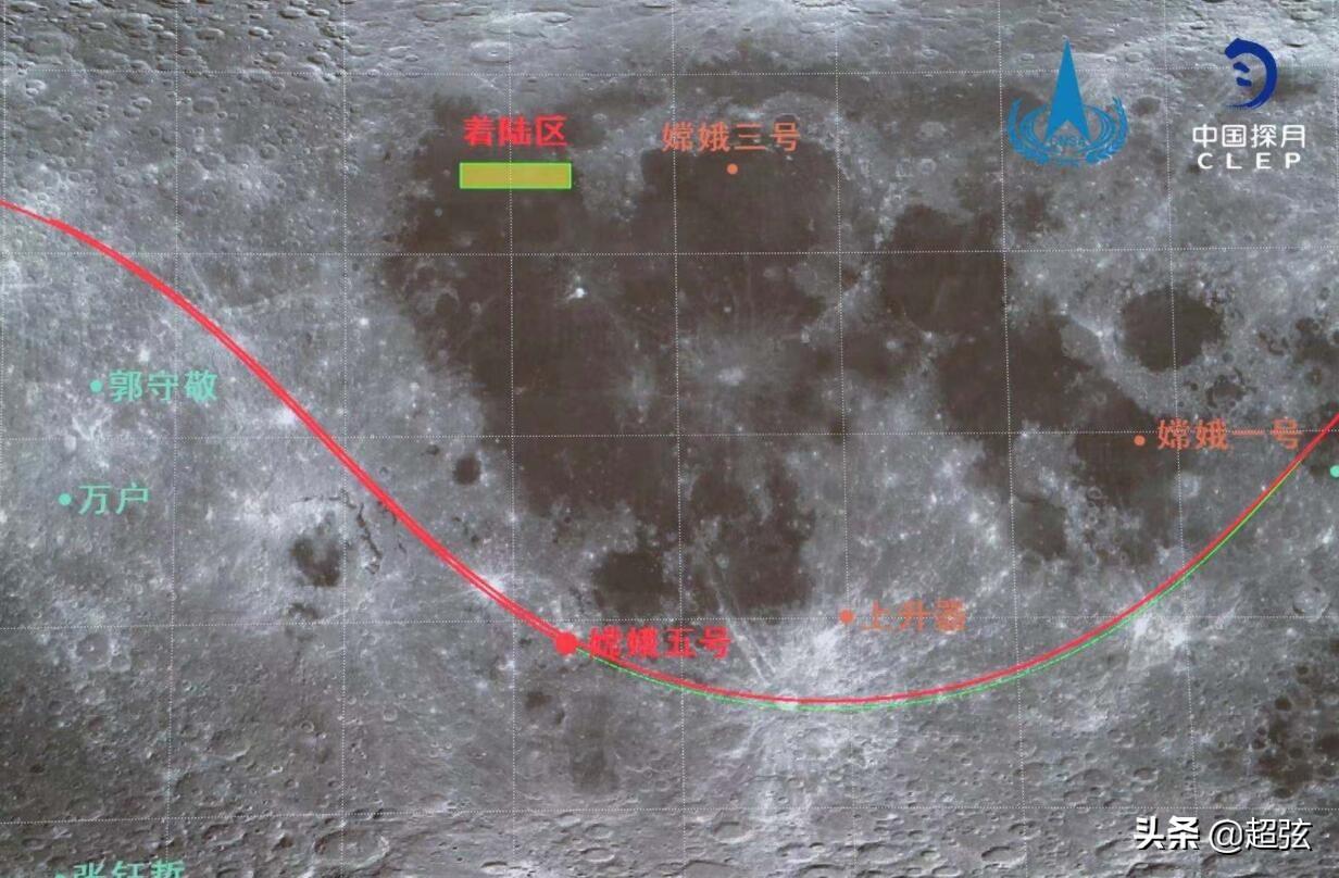 """好消息!怀揣着2公斤的月球""""宝藏"""",嫦娥五号准备回家了"""