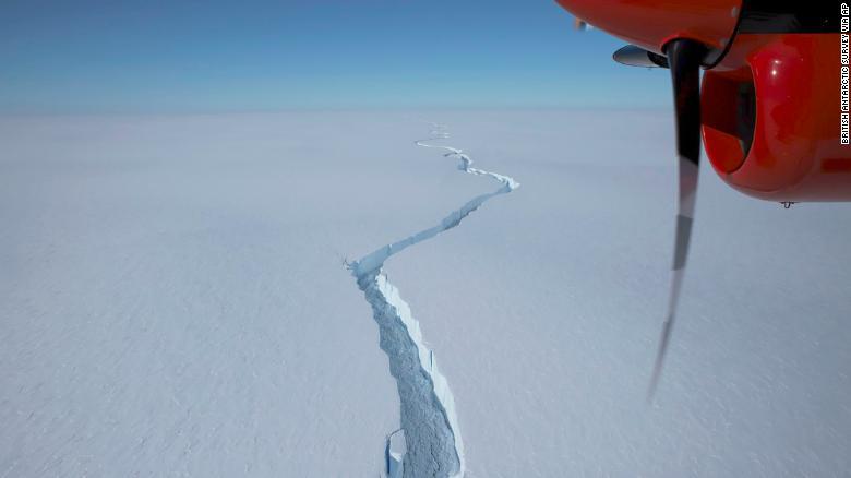 南极一面积比纽约还大的