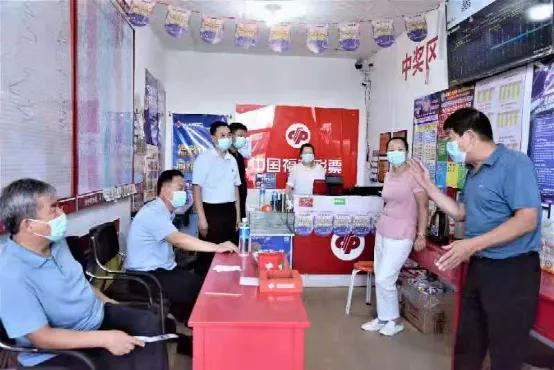省福彩中心领导莅临临汾市福彩中心工作调研