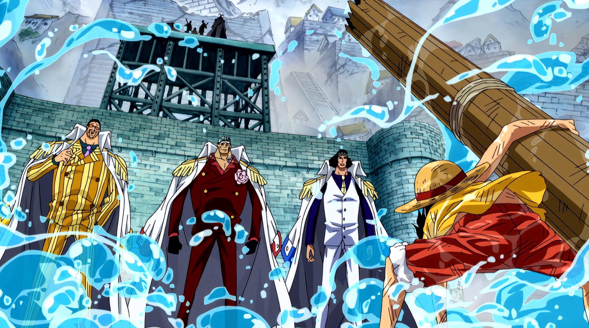 海賊王:頂上戰爭中為路飛開路的6大強者,只有巴基是被動行為