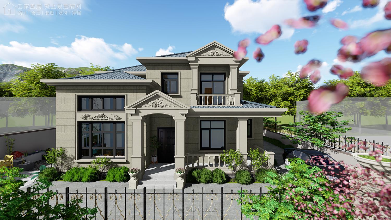 三套不可錯過的居家兩層歐式別墅,布局合理舒適,造型經典
