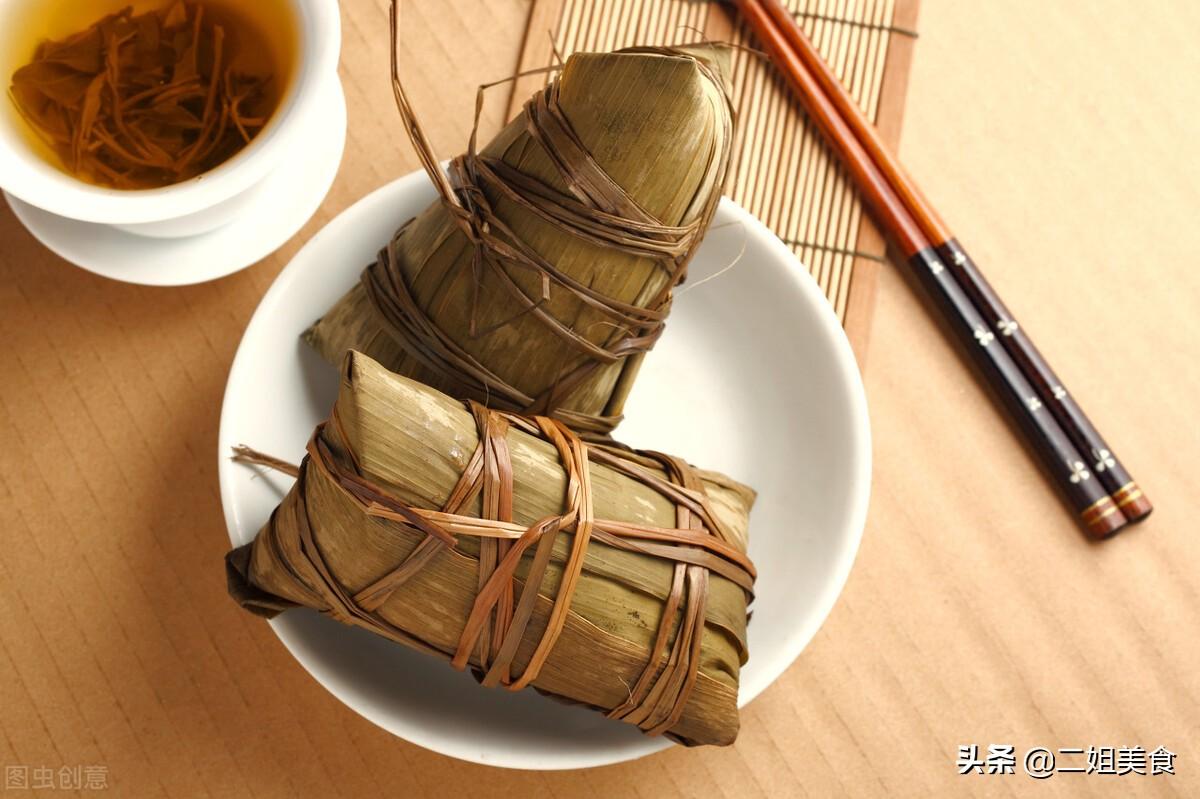 粽叶不要用水煮,教您正确的处理方法,包出来的粽子清香又好吃