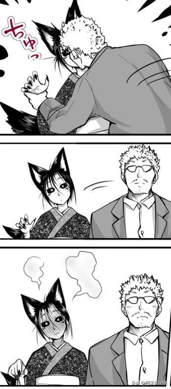 男人救出了一隻妖狐,妖狐送自己的尾巴給他擼
