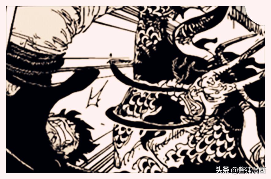 海賊王1010話,索隆鬼氣是霸王色,路飛覺醒纏繞霸王色的大招