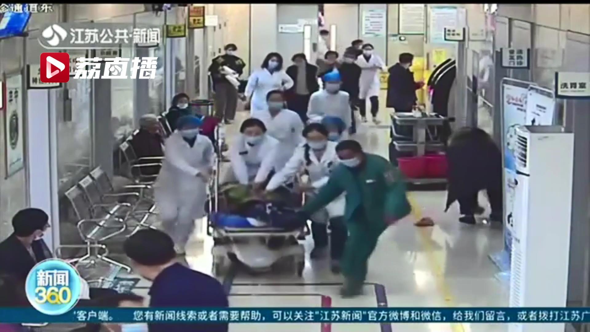患者就诊时心脏骤停 淮安一护士长紧急心肺复苏