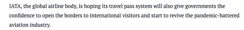 新西兰航空正式试行疫苗护照,境外返澳需出示数字健康通行证